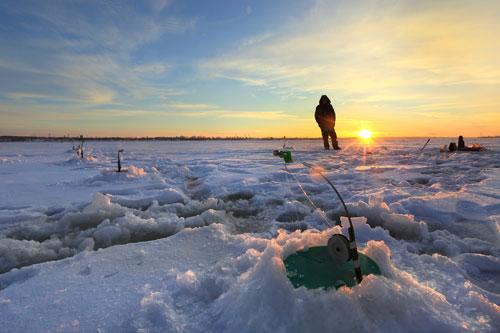 Brian Head Ice Fishing