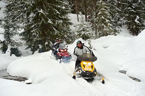 Brian Head Snowmobiling